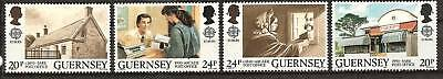 Guernsey # 422-425 Mnh Post Offices