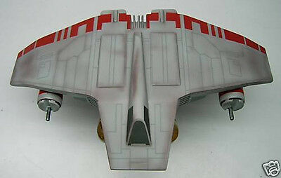 Airspeeder Star Wars V-Wing Spacecraft Wood Model Small New