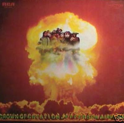 Jefferson Airplane - Crown Of Creation  Lp Lsp 4058 Usa