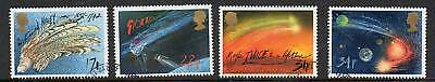 GB 1986 Halleys Comet fine used set stamps