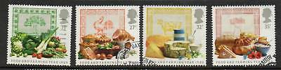 GB 1989 Food & Farming Year fine used set stamps