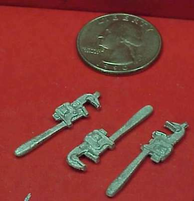 Gdp16 Wiseman Model Services G Scale Or 1:20.3 Detail Parts: Pipe Wrenches