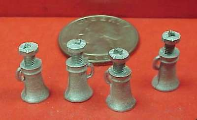 Gdp18 Wiseman Model Services G Scale Or 1:20.3 Detail Parts:  Screw Jacks