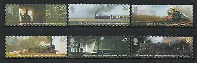 GB 2004 Classic Locomotives MNH mint set stamps
