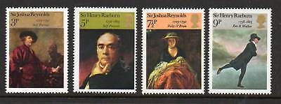 GB 1973 Briish Paintings MNH mint set stamps