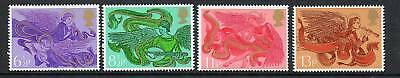 GB 1975 Christmas MNH mint set stamps