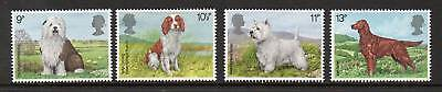 GB 1979 Dogs MNH mint set stamps