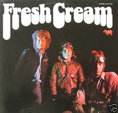CREAM - FRESH CREAM  rso 2479 180 LP  1978 GER