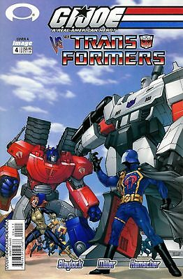 G.I.Joe V Transformers#4-A-(NM)`03 Blaylock/Miller