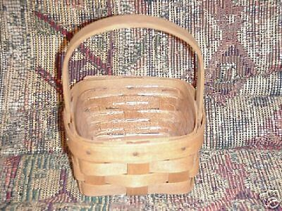 Longaberger 1988 Potpourri Booking Basket and protector mint condition