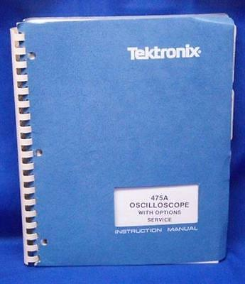 Tektronix 475A Oscilloscope w/Options SERVICE Manual