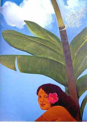PALAMA ~Giclee on Canvas~A Pegge Hopper Ltd Edn~HAWAII (Others by Special Order)