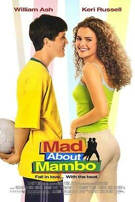 MAD ABOUT MAMBO MOVIE POSTER ~ ORIGINAL 27x40 Keri Russell