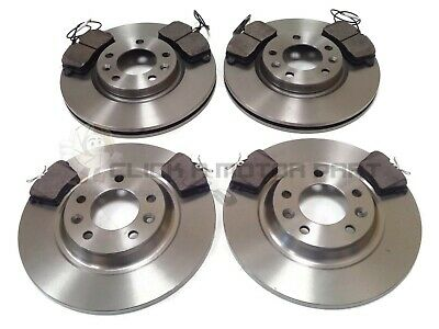 Peugeot 407 1.6 1.8 2.0 2004-2011 Front & Rear Brake Discs And Pads Set New