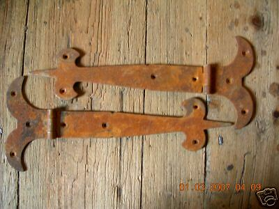 "~One Pair~ Of~10"" Rustic Gothic T/hinges~"