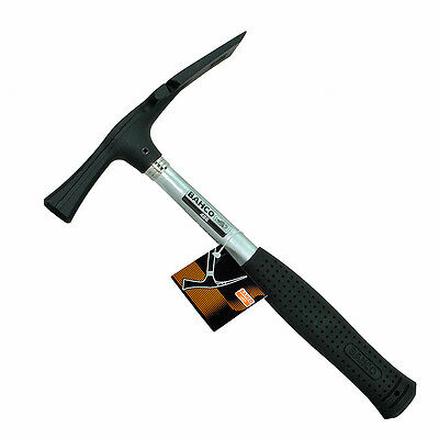 Bahco 600g Bricklayers Block Rubber Grip Steel Shaft Handle Chisel Hammer, 486