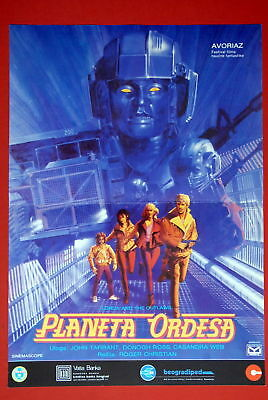 Lorca & Outlaws Sci-Fi 1985 Rare Exyu Movie Poster