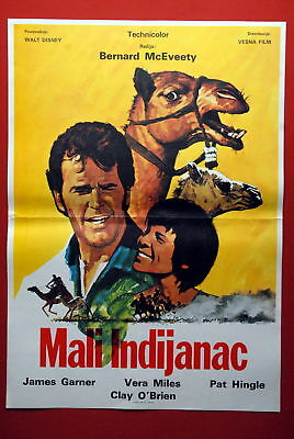 One Little Indian Walt Disney 1973 Exyu Movie Poster