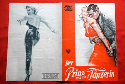 Prince & Showgirl M Monroe 1957 German Movie Program