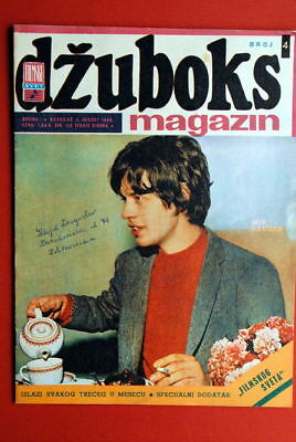Rolling Stones Mick Jagger On Cover 1966 Unique Rare Exyu Magazine