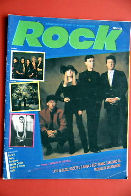 Talking Heads On Cover 1988 Very Rare Exyu Magazine