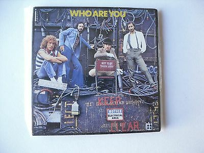 Who - Who Are You -  Metal Fridge Magnet