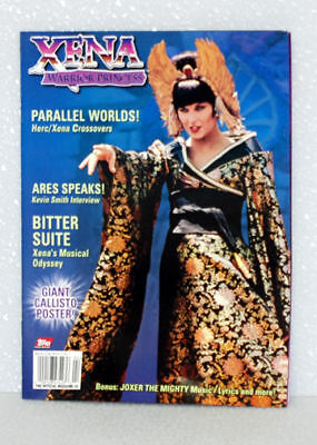 Xena Official Magazine  Issue #3 topps