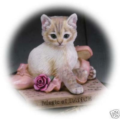 Country Artists Kitten The Magic of Dance Cat Figurine NEW  in Box 4627