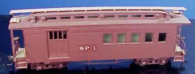 Sn3 WISEMAN MODEL SERVICES VTS-3 SOUTHERN PACIFIC/SPC #1 COMBINE KIT