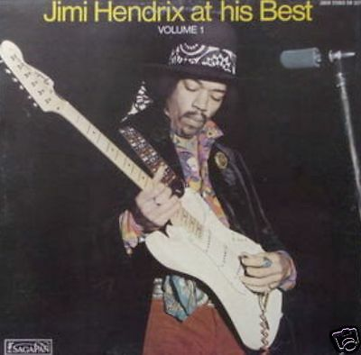 JIMI HENDRIX AT HIS BEST VOL.1 joker serie saga LP 1972