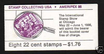 USA Scott BK153 complete booklet, Stamp Collecting