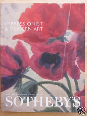 Sotheby's Impressionist & Modern Art Part 2 11 May 2000