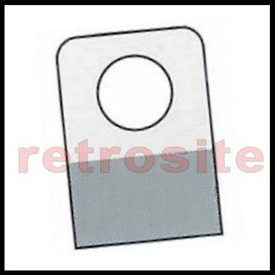 108 Self-Stick Clear Plastic Hang Tabs Tags Round Hole Adhesive Package Hangers
