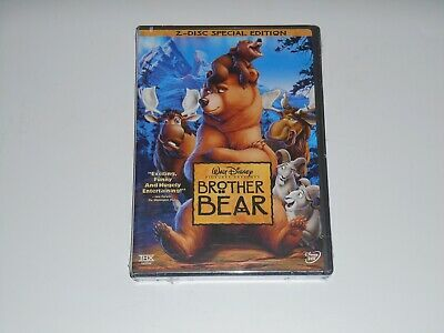 Brand New Sealed DISNEY'S Brother Bear 2 DISC SPECIAL EDITION Cartoon MOVIE DVD