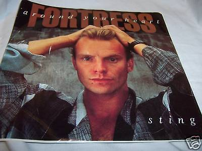 45 RPM Sting Fortress Around Your Heart