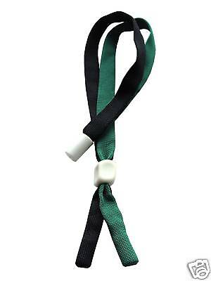 Black & Green Glasses / Sunglasses Sports Adjustable Safety Strap Cord Retainer