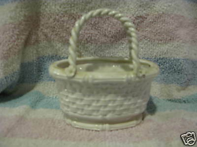 Ceramic Basket- Made in Italy