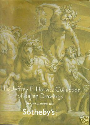 SOTHEBY'S Jeffrey Horvitz Collection Italian Drawings