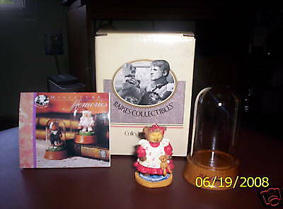 RAIKES COLLECTIBLE REBECCA MINIATURE BEAR FIGURINE HTF