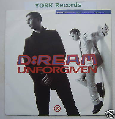 "D-REAM - Unforgiven - Excellent Condition 12"" Single"