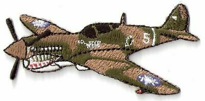 Flying Tigers P-40 Warhawk WWII Fighter Plane Patch