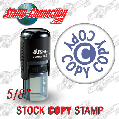 Shiny 517R Self-Inking COPY Stamp (PURPLE)