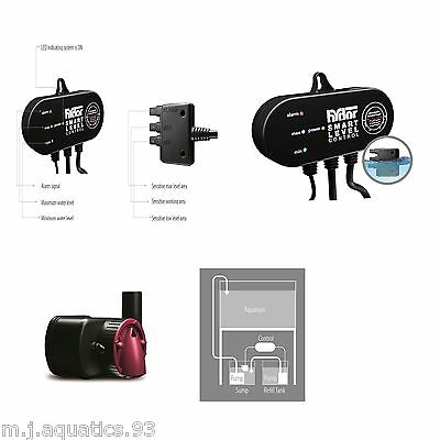 Hydor Auto Top Up Smart Level Controller Unit Complete With Sump Top-Up Pump • EUR 104,47