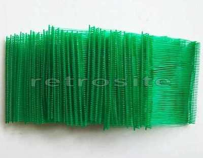 "1000 GREEN Price Tag 3"" Plastic Barbs Fasteners Use with REGULAR Tagging Gun"