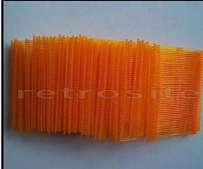 "1000 ORANGE Price Tag Tagging Gun 3"" Barbs Fasteners"