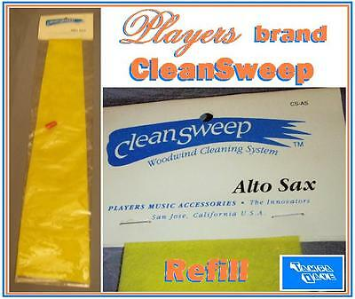 Clean Sweep refill Alto Sax Players CleanSweep swab
