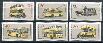 Germany 1973 Public Transportation - Buses - Horses Set Mint Complete!