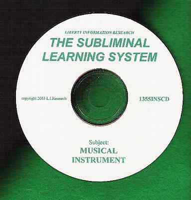 MUSICIAN Multi-Instrument AMAZING SUBLIMINAL LEARNING