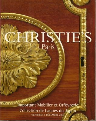 CHRISTIE'S French Furniture Japanese Lacquer Couvelaire