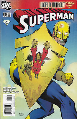 Superman #687 (NM)`09 Robinson/Guedes